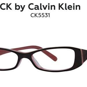 Calvin Klein glasses 👓 + CK case +CK cloth